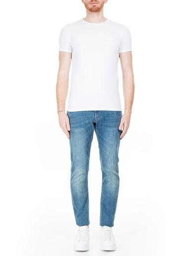 Emporio Armani  J06 Jeans Erkek Kot Pantolon 3H1J06 1Dlrz 0942 Lacivert